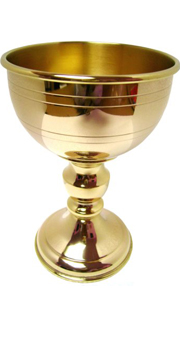 Gold Plated (24kt) Chalice and Case - Gift set