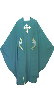 Green Chasuble + Stole