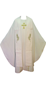 Pearl Chasuble + Stole