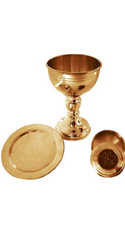 Altar Set (24 kt) with case - Gift special