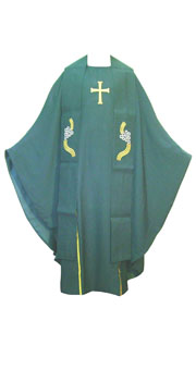 Green Chasuble I + Stole