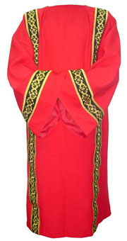Deluxe Dalmatic - red