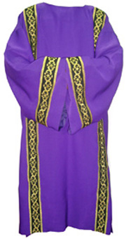 deluxe dalmatic - purple