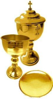 Holy Eucharist Set (Gold)