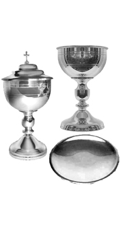 Holy Eucharist Set (Pewter)