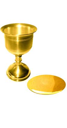 4c990af04fa Set Cáliz y patena en oro 24 KT