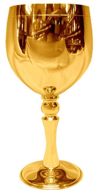 Classic Chalice Gold Plated 24 Kt Image