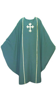 Green Chasuble